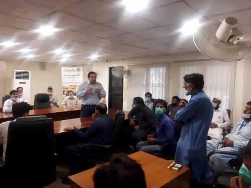 Safety Awareness Campaign At RTC with Trainees